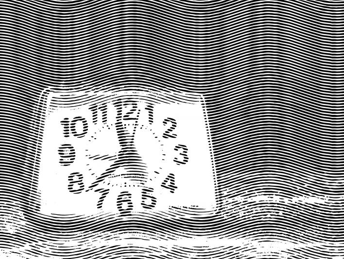 Engrave Analog Clock
