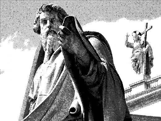 Stipplr Vatican St Paul Statue