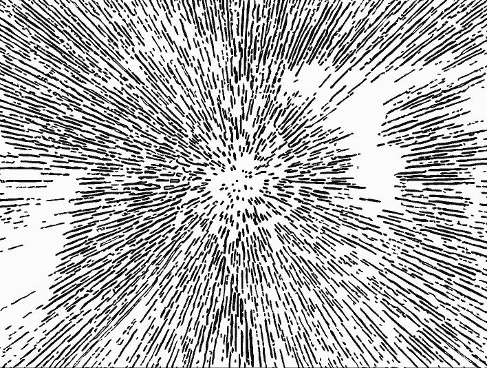 Stipplr Vector Photoshop Comic Book Cartoon Blast Explosion POW!