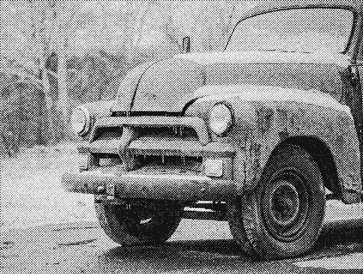 Stipplr Newsprint Texture Farmers Truck on Dirt Road