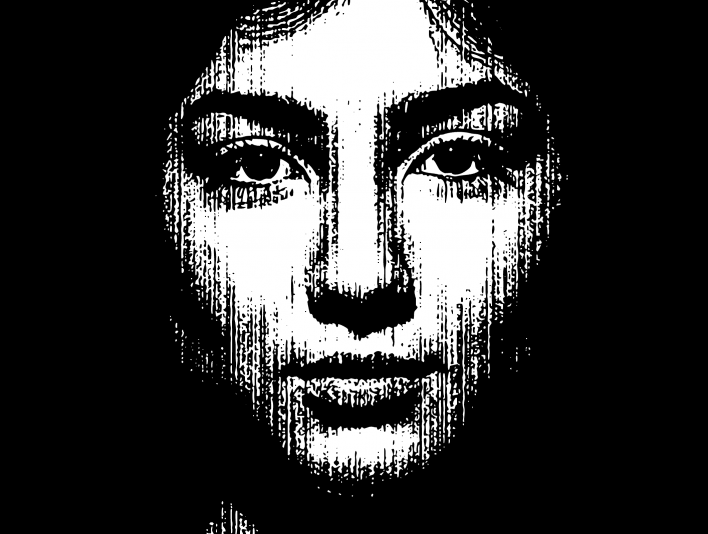 Stipplr Bad Photocopy Texture Mona Lisa Smile