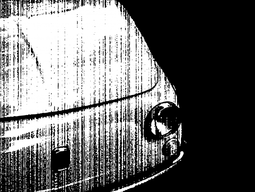 Stipplr Bad Photocopy Texture Fiat Car