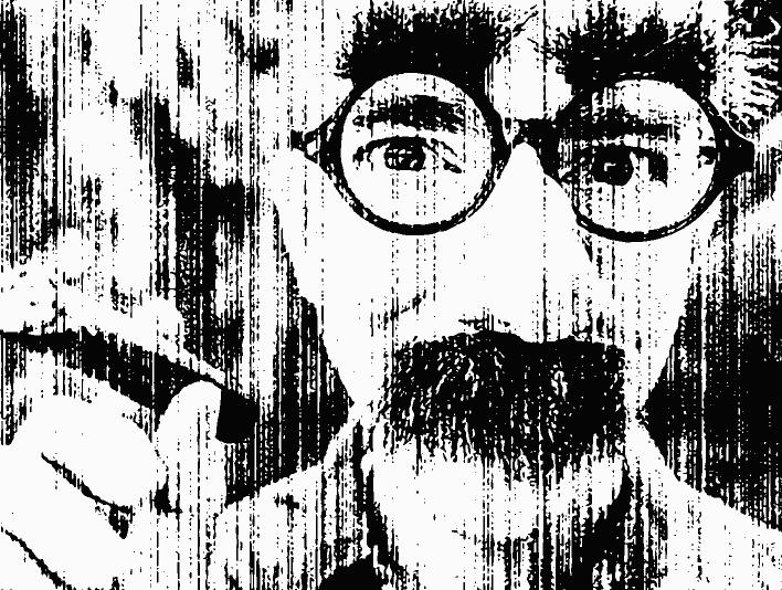 Stipplr Bad Photocopy Texture Charlie Chaplin