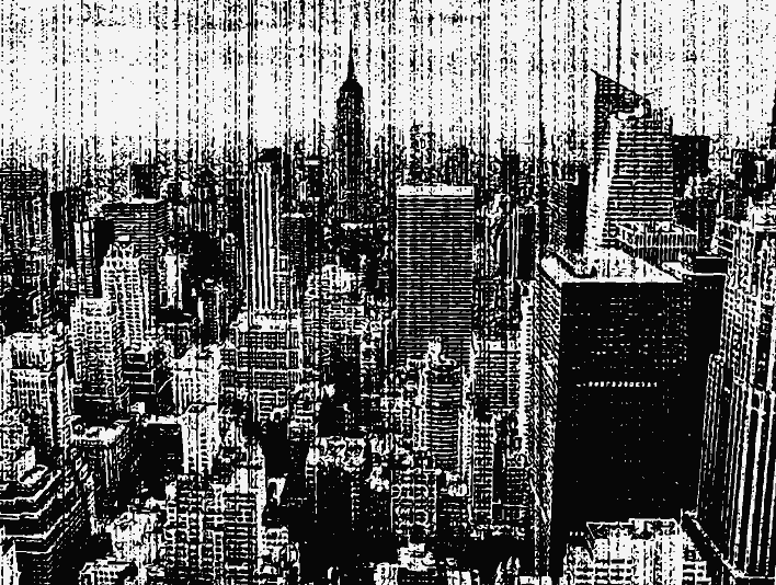 Stipplr Vector Photocopy Texture New York City