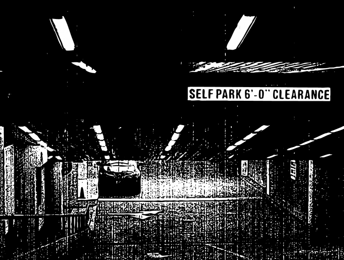 Stipplr Distressed Photocopy Texture Underground Parking