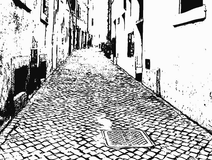 Stipplr Italian Cobble Stone Street