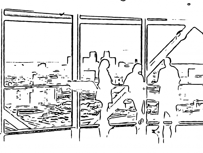 Stipplr Office Meeting On Mezzanine