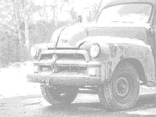 Stipplr Photoshop Benday Dot Technique Old Farmers Truck