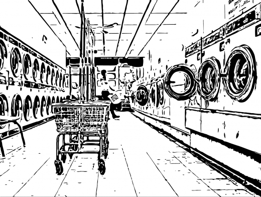 Stipplr Inker Live Trace for Photoshop Laundry Mat Nirvana