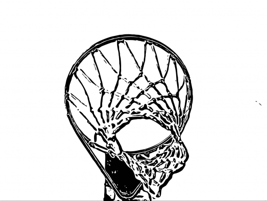 Stipplr Inker Live Trace for Photoshop Basketball Net