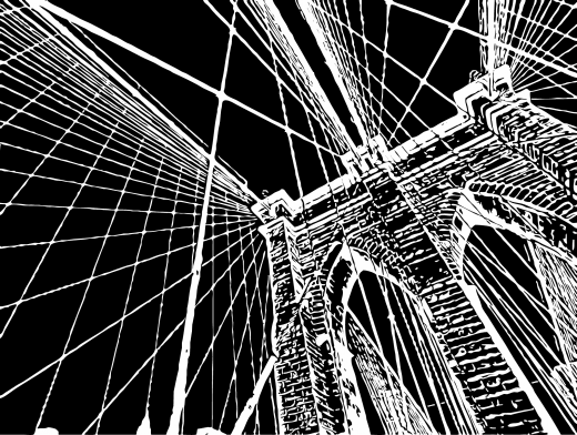 Stipplr Inker Live Trace for Photoshop Stone Bridge Overpass