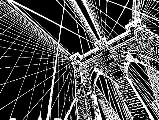 Stipplr Inker Live Trace for Photoshop Stone Bridge Overpass