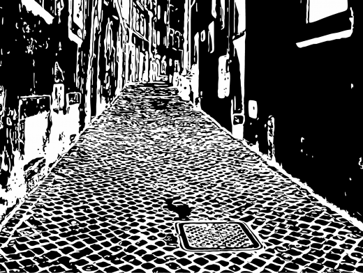 Stipplr Inker Live Trace for Photoshop Italian Cobble Street
