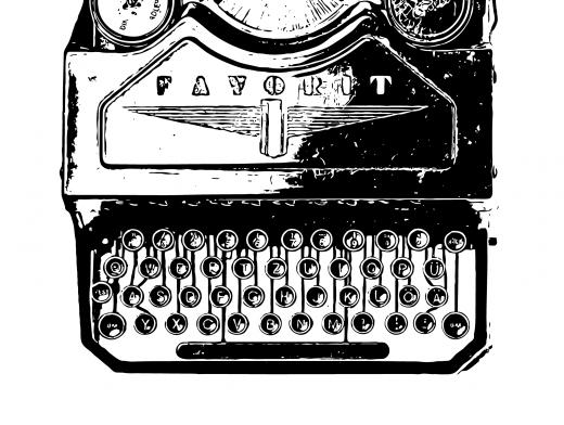 Stipplr Photoshop Vector Trace Favorit Classic Typewriter