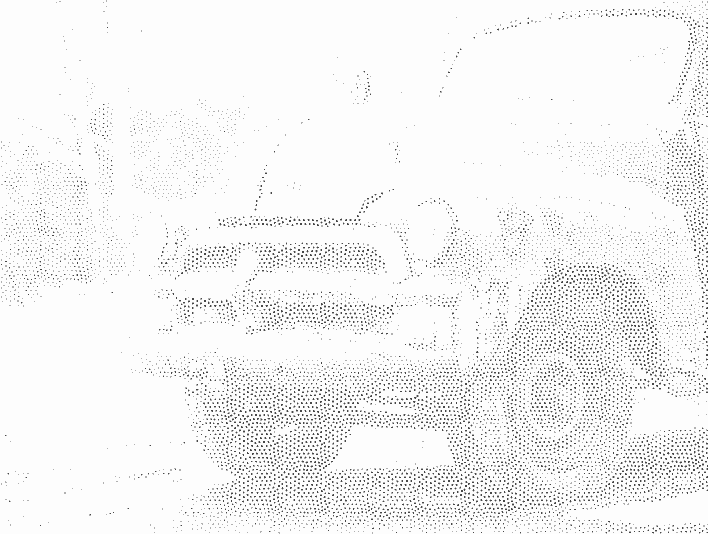 Stipplr Photoshop Sparce Stipple Pattern Old Farmers Truck