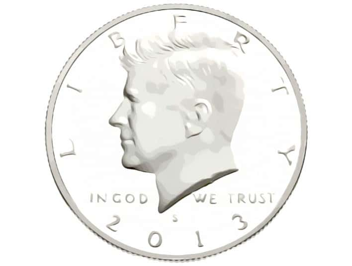 Stipplr Photoshop Pixel Vexel Art Robert Kennedy Coin