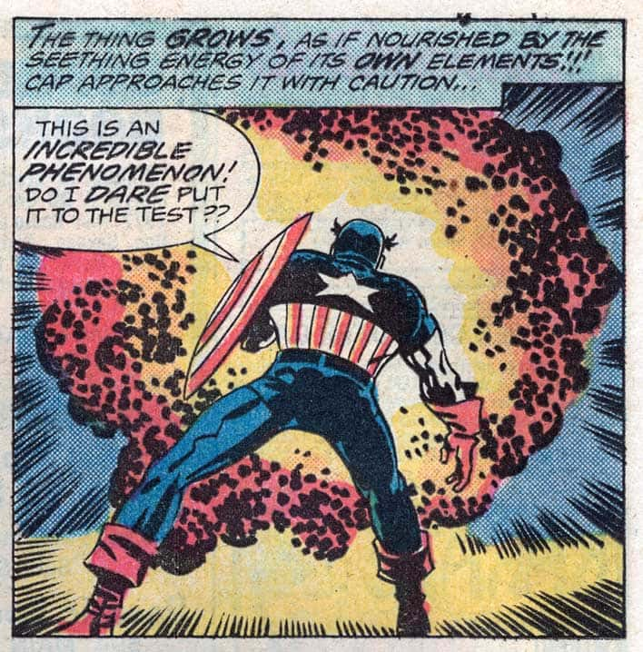 Captain America 1976 with Jack Kirby Illustrating