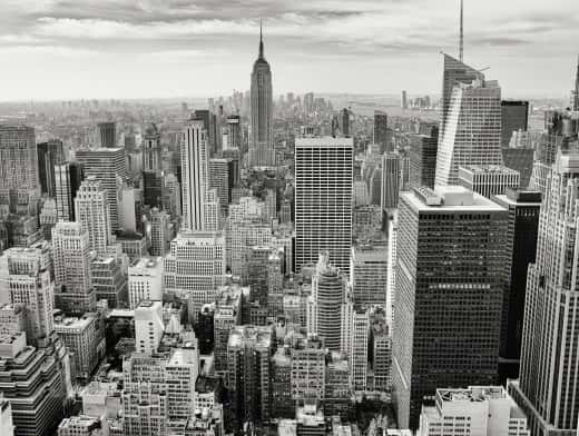 Stipplr Stock Photo NYC skyline With Empire States Building In Distance
